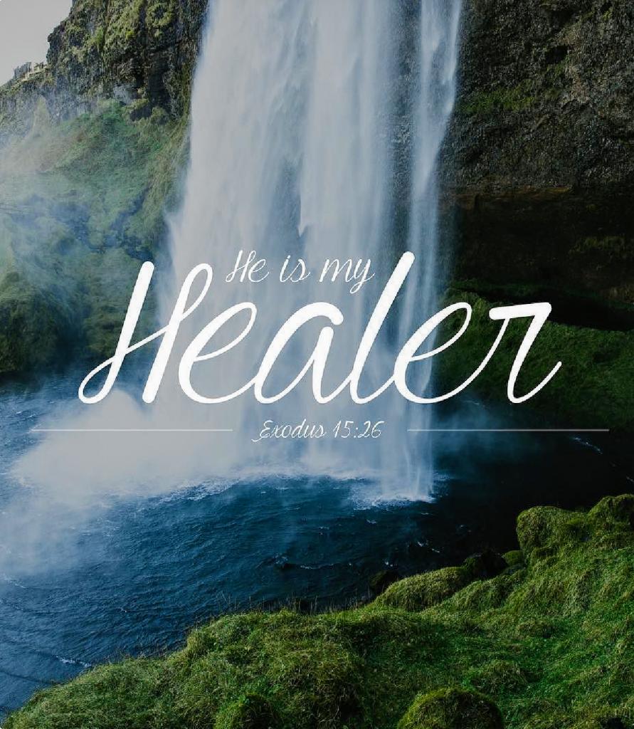 he ismyhealer. exodus15:26